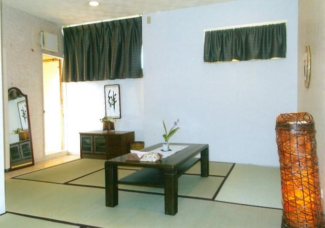 The Japanese style room of Sukeya